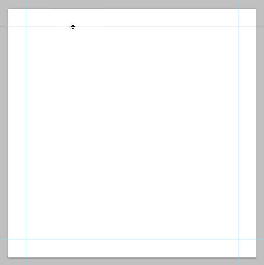 photoshop typography draw guides